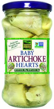 Native Forest - Baby Artichoke Hearts - Case of 6 - 9.9 OZ