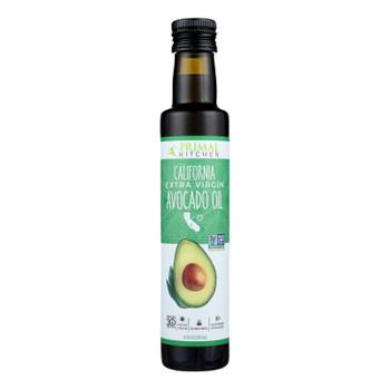 Primal Kitchen Avocado Oil California Extra Virgin  - Case of 6 - 8.5 FZ