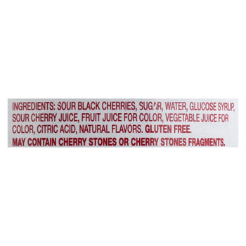 Amarena Toschi Candied Sour Black Cherries In Syrup  - Case of 6 - 10.6 OZ