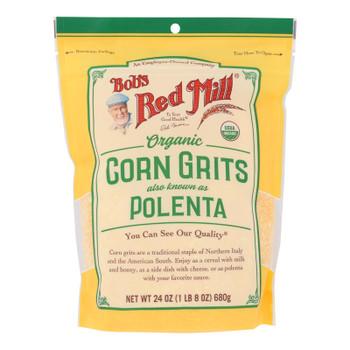 Bob's Red Mill - Corn Grits Polenta - Case of 4 - 24 OZ