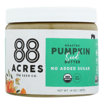 88 Acres - Butter Seed Pumpkin Sugar Free - Case of 6 - 14 OZ