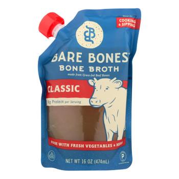 Bare Bones Classic Bone Broth  - Case of 6 - 16 FZ