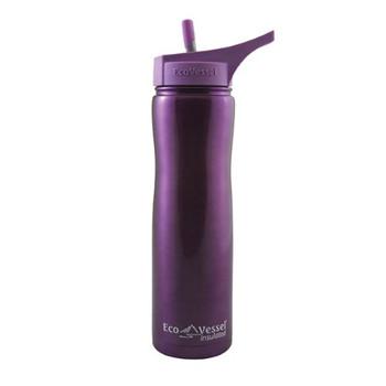 Ecovessel - Bottle Summit Ss Ft Prpl Glw - Case of 6 - 24 OZ