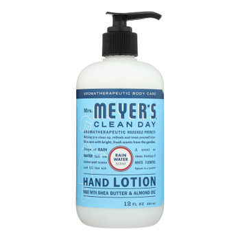 Mrs.meyers Clean Day - Hand Lotion Rainwater - Case of 6 - 12 FZ