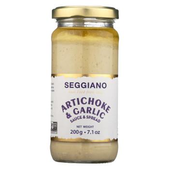 Seggiano Artichoke & Garlic Tapenade  - Case of 6 - 7 OZ