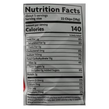 Lundberg Family Farms - Chips Tort Mango Chili - Case of 12 - 5 OZ