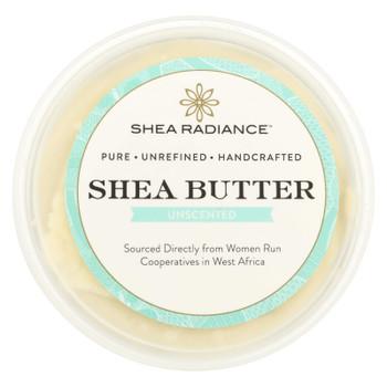 Shea Radiance Unscented Shea Butter  - 1 Each - 7.5 OZ