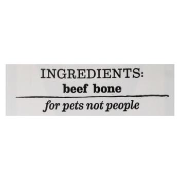 Happy N Healthy Pet - Dog Bone Beef Medium - Case of 6 - 1 CT