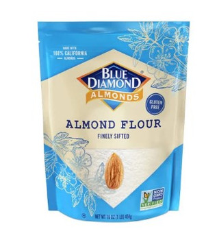 Blue Diamond - Almond Flour - Case of 4 - 16 OZ