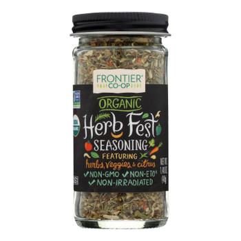 Frontier Herb - Seasng Blend Herbal Fest - Case of 12 - 1.40 OZ
