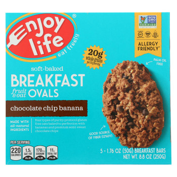 Enjoy Life - Bar Breakfast Cchip Ban - Case of 6 - 8.8 OZ