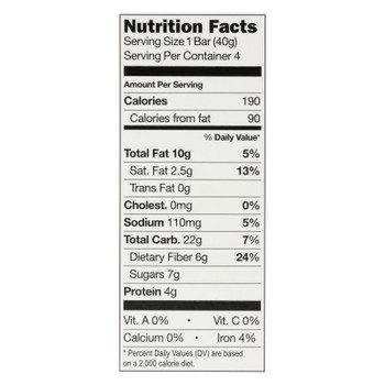 This Bar Saves Lives - Bar Dark Chocolate Peanut Butter 4 Pack - Case of 8 - 5.64 oz.