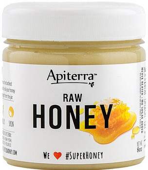 Apiterra - Raw Honey Turmeric Original - Case of 6 - 8 OZ