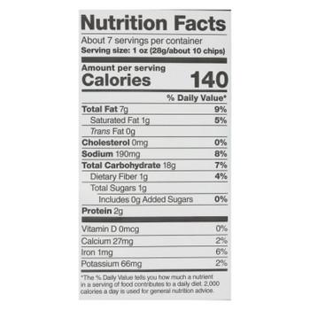 Paqui - Tort Chip Cool Salsaverde - Case of 5 - 7 OZ