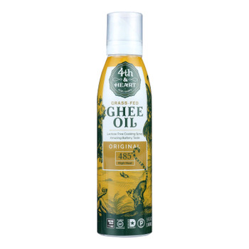 4th & Heart - Ghee/oil Original Spray - Case of 6 - 5 OZ