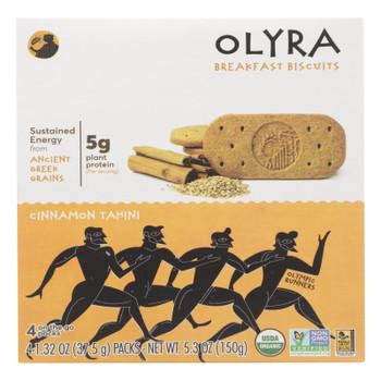 Olyra - Biscuit Cinnamon Tahini - Case of 6 - 5.3 OZ