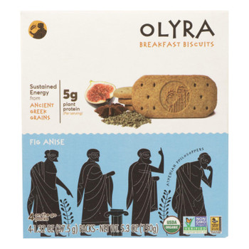 Olyra - Biscuit Fig Anise - Case of 6 - 5.3 OZ