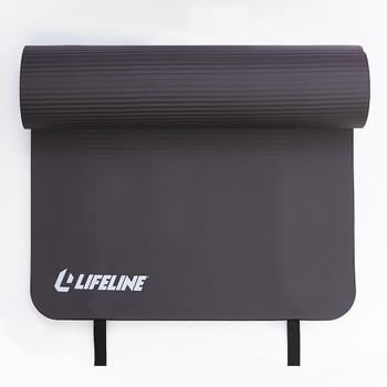 Lifeline Fitness - Exercise Mat Black 72x23 - 1 Each - 1.85 LB