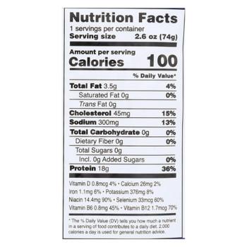 Safe Catch - Tuna Garlic Herb Pouch - Case of 12 - 2.6 OZ