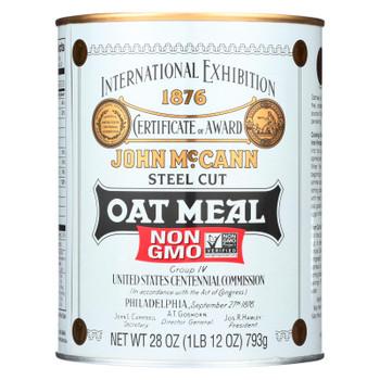 Mccann's Traditional Steel Cut Irish Oatmeal  - 1 Each - 28 OZ