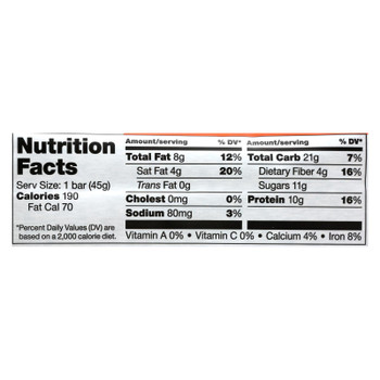 Vega - Bar Chocolate Caramel Protein - Case of 12 - 1.6 OZ