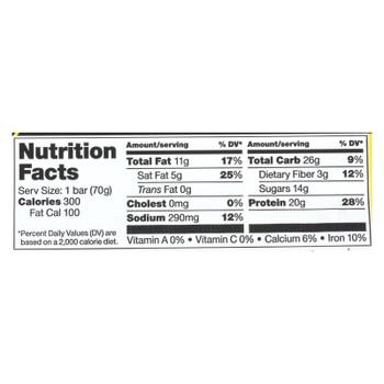 Vega - Bar Sport Crunch Peanut Butter Protein - Case of 12 - 2.5 OZ
