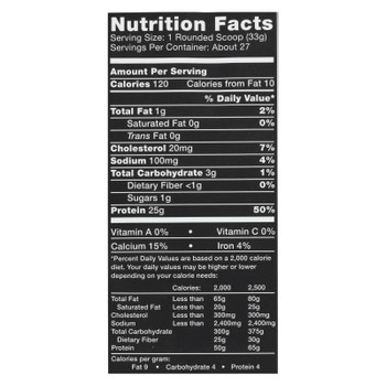 Ascent Native Fuel Chocolate Whey Protein Powder Blend Chocolate - 1 Each - 2 LB