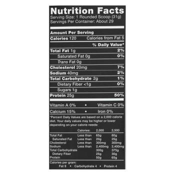Ascent Native Fuel Vanilla Bean Whey Protein Powder Blend Vanilla Bean - 1 Each - 2 LB