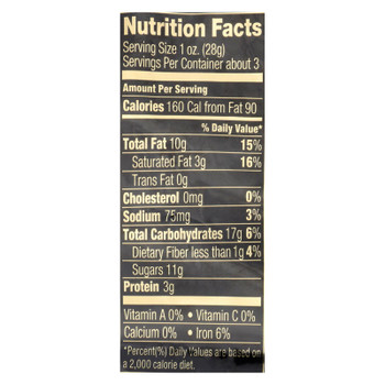 Squirrel Brand Caramel Toasted Colada Cashews  - Case of 6 - 3.5 OZ