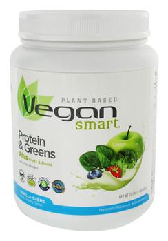 Vegan Smart - Vgn Smrt Shke Vanilla Cream Green - 1 Each - 22.8 OZ