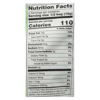 Nora Snacks Seaweed Snacks Crispy Original - Case of 12 - 1.13 OZ