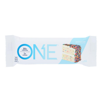 One Birthday Cake Flavored Protein Bar  - Case of 12 - 60 GRM