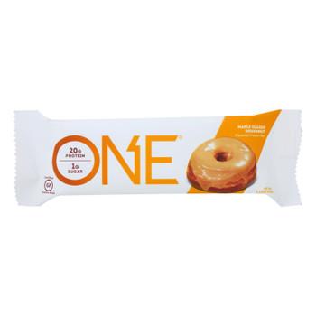One Brands Protein Bar Maple Glazed Doughnut  - Case of 12 - 60 GRM