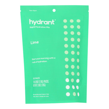 Hydrant - Hydrate Mix Lime - Case of 6 - 10 PACK