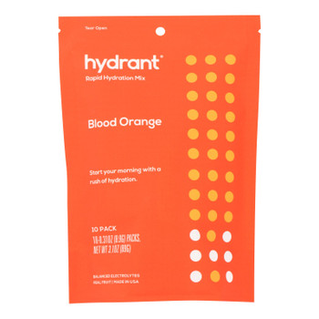 Hydrant - Hydrate Mix Blood Orange - Case of 6 - 10 PACK