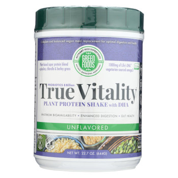 Green Foods - True Vitality Unflavored - 1 Each - 22.7 OZ