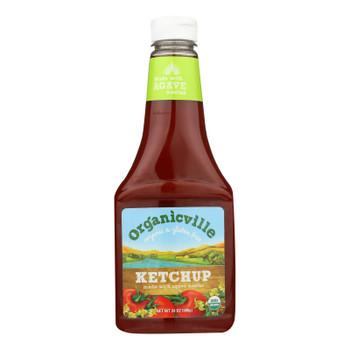 Organicville Condiment Ketchup Organic  - 1 Each - 24 OZ