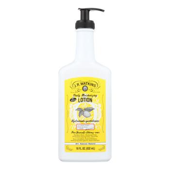J.R. Watkins Lemon Cream Daily Moisturizing Lotion - 1 Each - 18 FZ