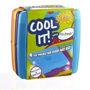 Jaxx - Cool Coolers 4pk Ice - 1 Each - 1 CT
