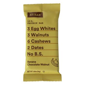 Rxbar - Protn Bar Ban Chocolate Walnt - Case of 12 - 1.83 OZ