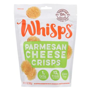 Cello Cheese Parmesan Whisps  - Case of 12 - 2.12 OZ