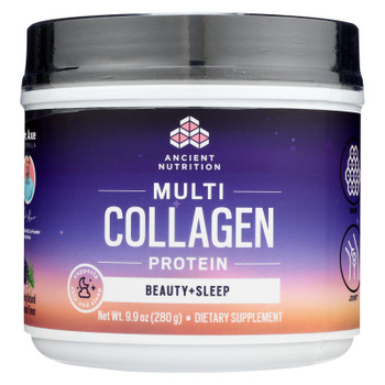 Ancient Nutrition - Multi Collagen Protein Sleep - 1 Each - 9.9 OZ