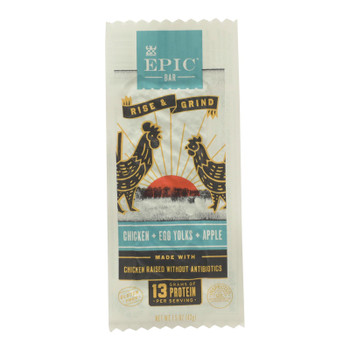 Epic - Bar Breakfast Chicken Egg Appl - Case of 12 - 1.5 OZ