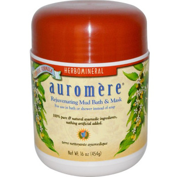 Auromere - Mud Bath Herbomineral - 1 Each - 16 OZ