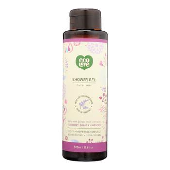 Ecolove - Shower Gel Purple Fruit - 1 Each - 17.6 FZ
