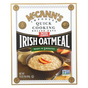 Mccann's Quick Cooking Irish Oatmeal  - 1 Each - 16 OZ