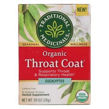 Traditional Medicinals - Herbal Tea Thrt Ct Eclyp - Case of 6 - 16 BAG