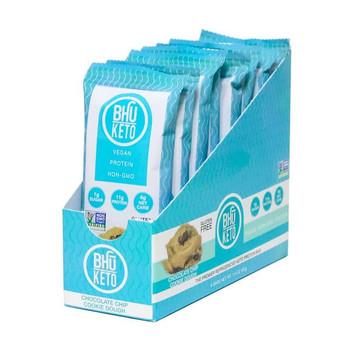 Bhu Foods - Kto Br Chocolate Chip Cky Dgh - Case of 8 - 1.60 OZ
