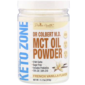Keto Zone - Kt Zne Mct Oil Pdr Fr Vanilla - 1 Each - 11.11 OZ