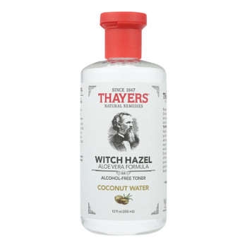 Thayers Witch Hazel Alcohol-Free Coconut Water Toner  - 1 Each - 12 FZ